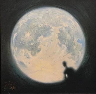 Moon Watch 2012 Limited Edition Print by Vladimir Kush