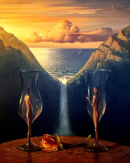 To Our Time Together AP 2004  Limited Edition Print - Vladimir Kush