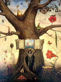 Genealogy Tree 2004 Limited Edition Print by Vladimir Kush
