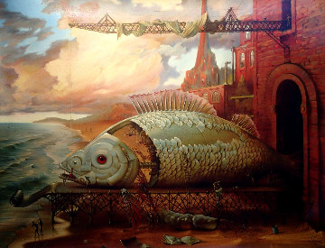 Deep Sea Project 1996 Limited Edition Print by Vladimir Kush