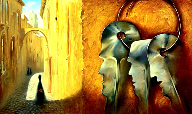 Keys 1997 Limited Edition Print by Vladimir Kush