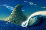 Wave  Original Painting - Vladimir Kush