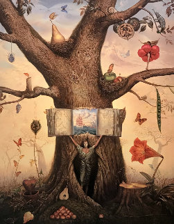 Genealogy Tree 2003 Super Huge Limited Edition Print - Vladimir Kush