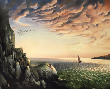 Bound For Distant Shores Limited Edition Print - Vladimir Kush