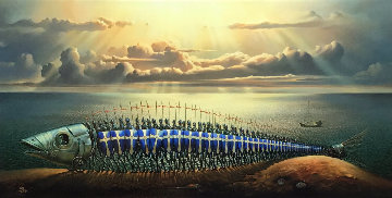 Crusaders Limited Edition Print - Vladimir Kush