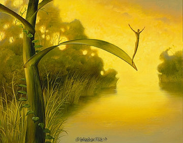 Waiting For Luck Limited Edition Print - Vladimir Kush