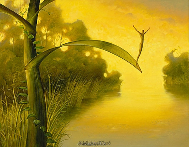 Waiting For Luck Limited Edition Print by Vladimir Kush