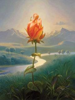 Morning Blossom Limited Edition Print by Vladimir Kush