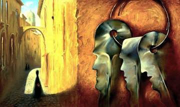 Keys 1997 Limited Edition Print - Vladimir Kush