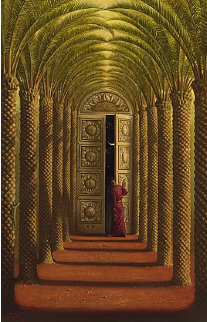 Doors of the Night 2007 Limited Edition Print by Vladimir Kush