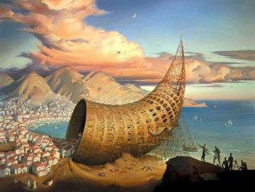Horn of Babel Limited Edition Print - Vladimir Kush