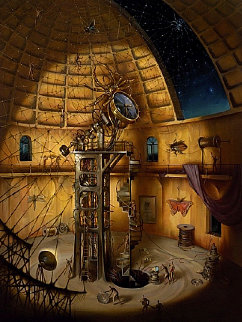 Webmaster Limited Edition Print by Vladimir Kush