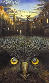 Evening Flight Limited Edition Print by Vladimir Kush