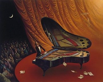 Moonlight Sonata Limited Edition Print - Vladimir Kush
