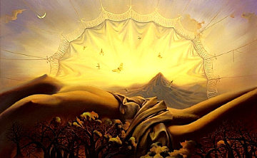 Dream Catcher 2000 Limited Edition Print - Vladimir Kush