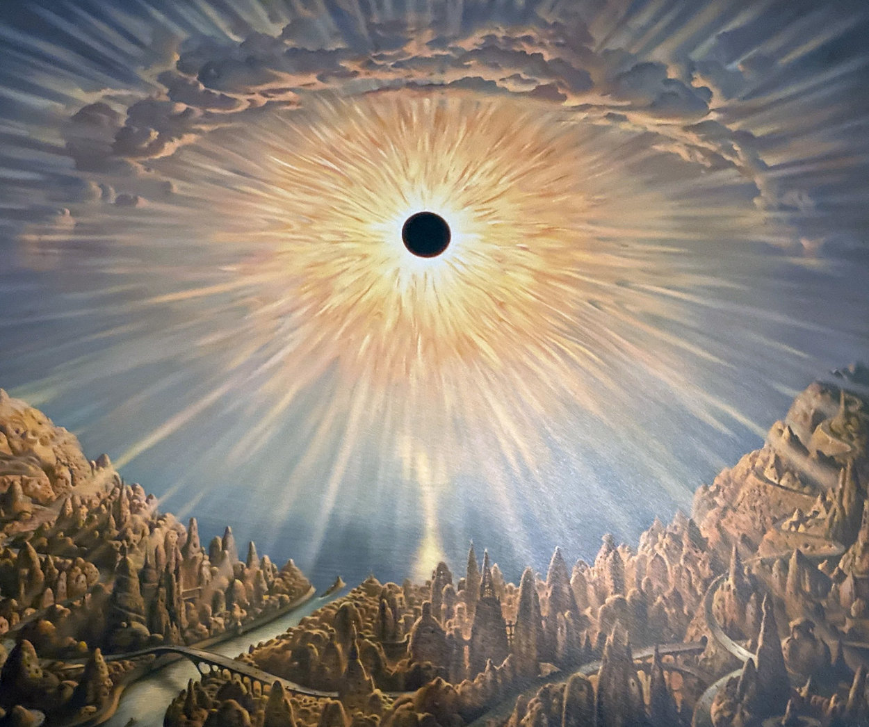 Eclipse Limited Edition Print by Vladimir Kush