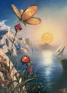 Treasure Island Limited Edition Print - Vladimir Kush