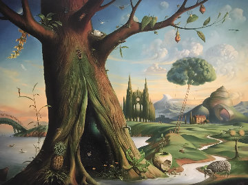 Tree of Life 2016 Limited Edition Print by Vladimir Kush