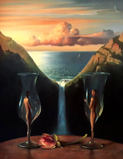 To Our Time Together 2004 Limited Edition Print by Vladimir Kush