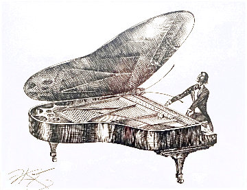 Moonlight Sonata 2012 Limited Edition Print - Vladimir Kush