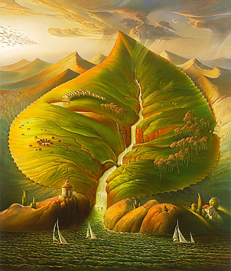 Ocean Sprout 2008 Limited Edition Print by Vladimir Kush