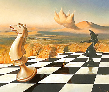 Taming of the Shrew Limited Edition Print - Vladimir Kush