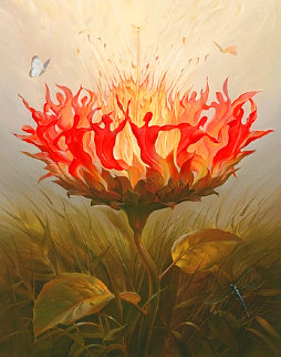 Fiery Dance Limited Edition Print - Vladimir Kush