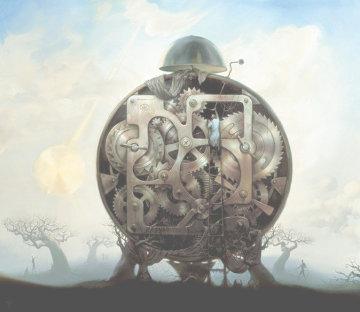 Millennium Watchman Limited Edition Print - Vladimir Kush