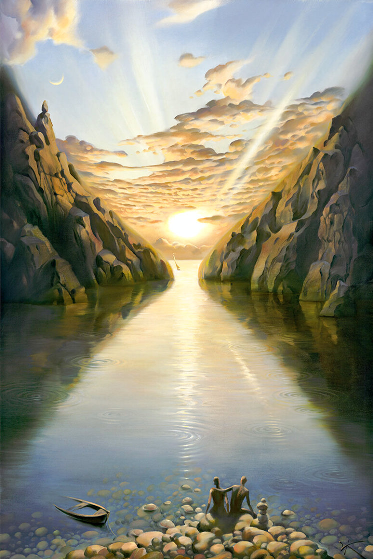 Tides of Time 2000 Limited Edition Print by Vladimir Kush