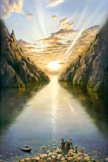 Tides of Time 2000 Limited Edition Print - Vladimir Kush