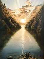Tides of Time 2000 Limited Edition Print by Vladimir Kush - 2