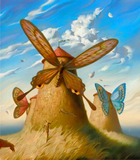 Land of Cervants 2013 Limited Edition Print - Vladimir Kush