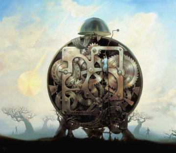 Millennium Watchman 2010 Limited Edition Print - Vladimir Kush