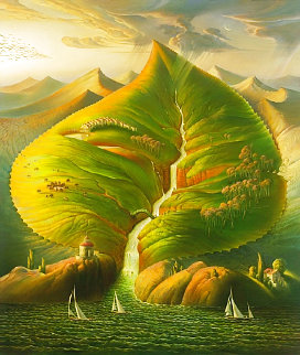Ocean Sprouts 2006 Limited Edition Print - Vladimir Kush