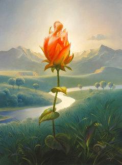 Morning Blossom 2006 Limited Edition Print - Vladimir Kush