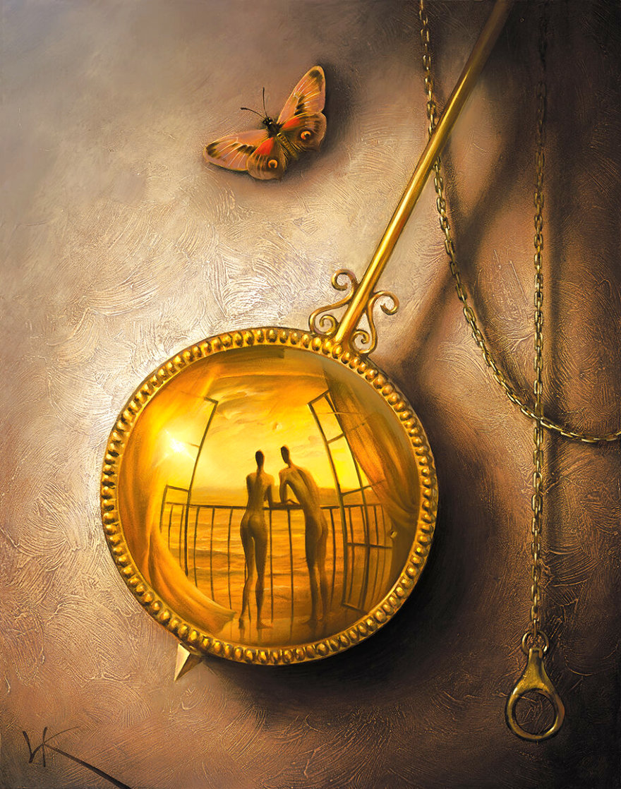 Stopped Moment 2001 Limited Edition Print by Vladimir Kush