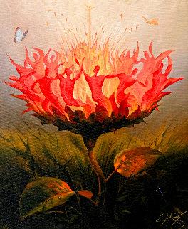 Fiery Dance 2001 Limited Edition Print - Vladimir Kush