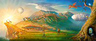 Human Way 2018 Embellished 112 Inches Limited Edition Print by Vladimir Kush - 0