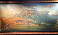 Human Way 2018 Embellished 112 Inches Limited Edition Print by Vladimir Kush - 1