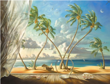 Ocean Breeze Limited Edition Print - Vladimir Kush