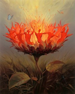 Fiery Dance 2001 Limited Edition Print by Vladimir Kush
