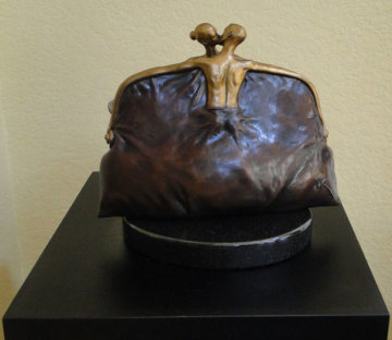 Purse Bronze Sculpture 2005 Sculpture - Vladimir Kush