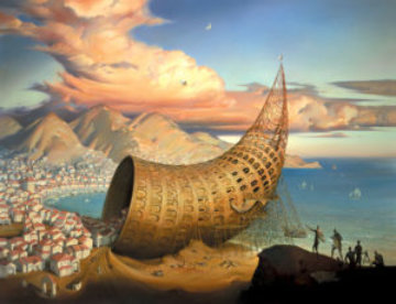 Horn of Babel Limited Edition Print by Vladimir Kush