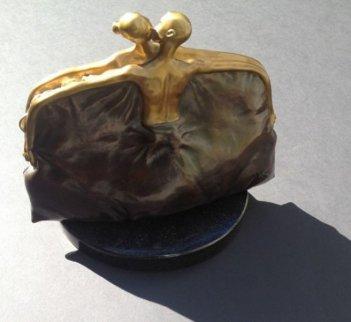 Purse Bronze Sculpture HC 1/10 2005 Sculpture - Vladimir Kush