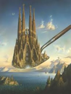 Measure of Greatness Limited Edition Print by Vladimir Kush