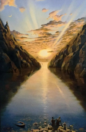 Tides of Time 2014 Limited Edition Print by Vladimir Kush
