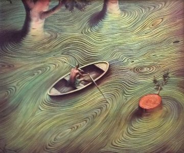Current 2001 Limited Edition Print by Vladimir Kush