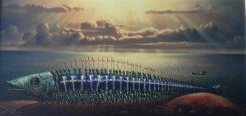 Crusaders 2007 Limited Edition Print by Vladimir Kush