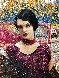 Lady in Purple 2012 56x54 Original Painting by Vladimir Mukhin - 4