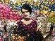Lady in Purple 2012 56x54 Original Painting by Vladimir Mukhin - 6